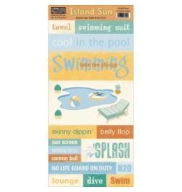 Paper loft PL swim accessory sheet