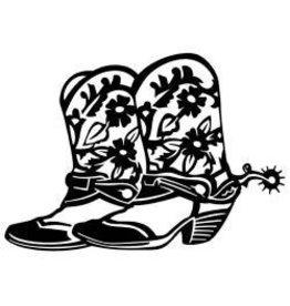 Scrapbook Studios SS diecut Cowboy boots