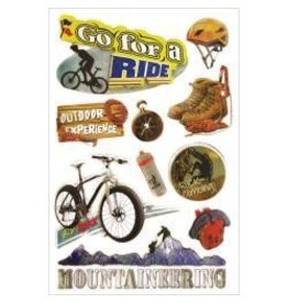 Multi Craft GO for a ride 3D stickers