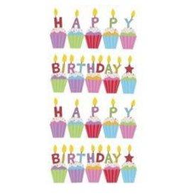 EK Success EK sticko birthday cakes