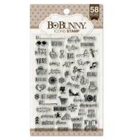 Bo Bunny BB stamp icons