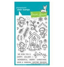Lawn fawn LF stamp frosty fairy