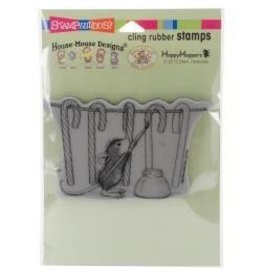 Stampendous SPD stamp painting stripes