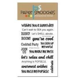 Paper Smooches PS stamp summer sampler