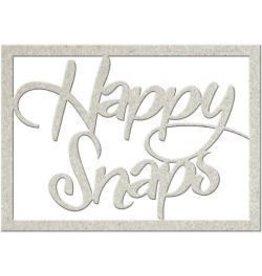 FabScraps FS chipboard happy snaps