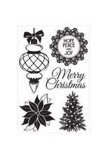 Kaisercraft KS stamp Christmas wishes