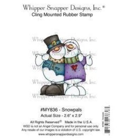 Whipper Snapper WS stamp snowpals