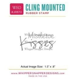 Whipper Snapper WS stamp mistletoe kisses