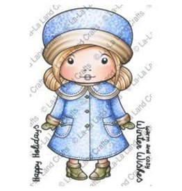 LaLa stamps LL stamp winter coat Marci