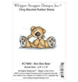 Whipper Snapper WS stamp Boo Boo Bear