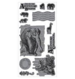 Hampton Art G45 stamp safari adventure 1
