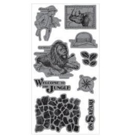 Hampton Art G45 stamp safari adventure 3