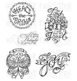Heartfelt Creation HC stamp all things are possible