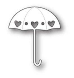 Memory Box MB die heart showers umbrella