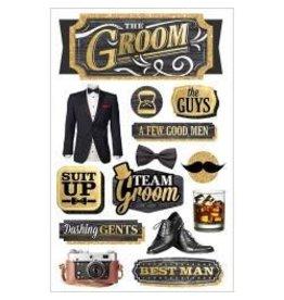 Paper House PH sticker the Groom
