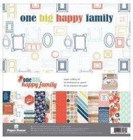 Paper House KS 12x12 one big happy family