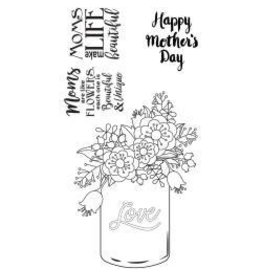 Sizzix Sizzix stamp Mother's day