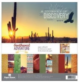 Paper House PH 12x12 Southwest adventure