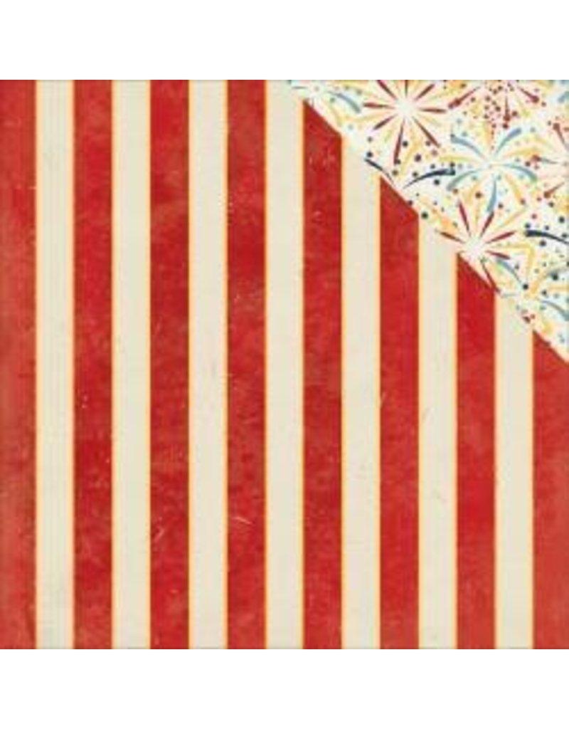 Bo Bunny 12BB firecracker stripe
