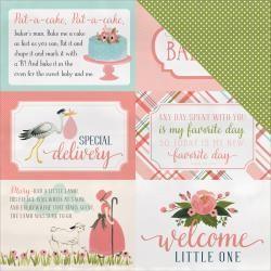 Carta Bella 12CB girl journal cards