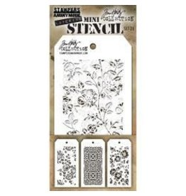 Tim Holtz TH mini stencil set 25
