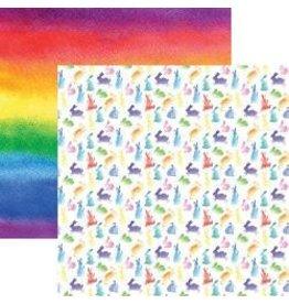 Reminisce 12RM watercolor bunnies