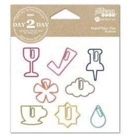 Jillibean JB paper clips wine