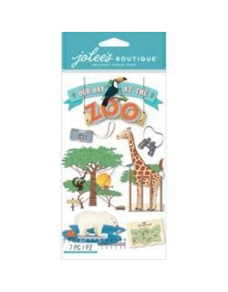 EK Success Zoo sticker jolee