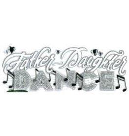 EK Success father daughter dance sticker jolee