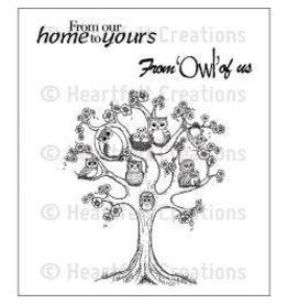 Heartfelt Creation HC stamp sugar hollow tree