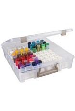 Art Bin Stickles case with 2 trays