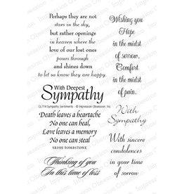 Impression Obsession IO stamp sympathy