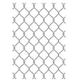 Kaisercraft KS embossing folder netting