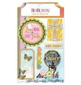 Bo Bunny BB layered chipboard faith