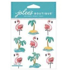 EK Success EK stickers flamingos
