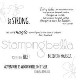 Stamping Bella SB stamp dragon sentiments