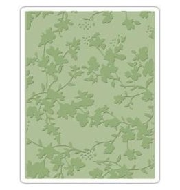 Tim Holtz TH sizzix embossing folder floral