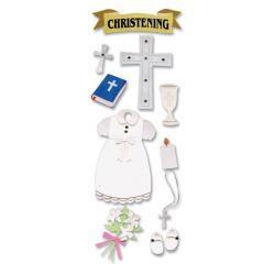EK Success EK Christening sticker