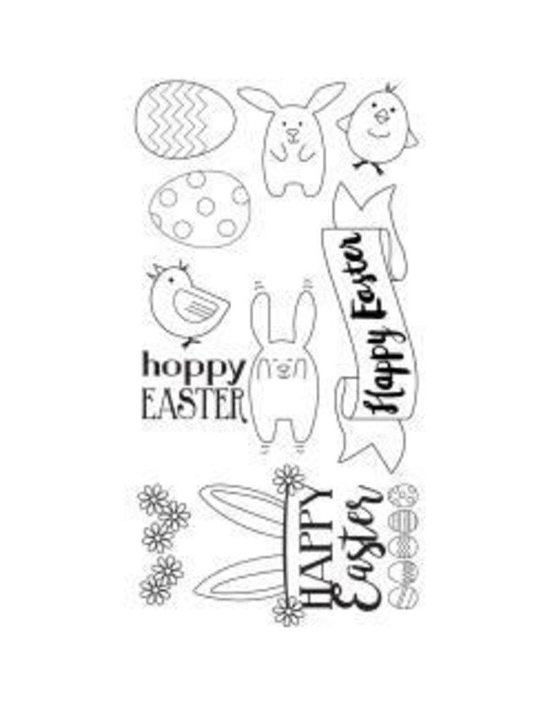 Sizzix Sizzix stamp hoppy Easter