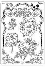Pergamano Pergamano grid 40 flowers
