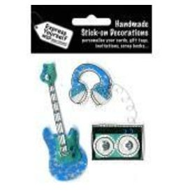 Express yourself EX guitar sticker