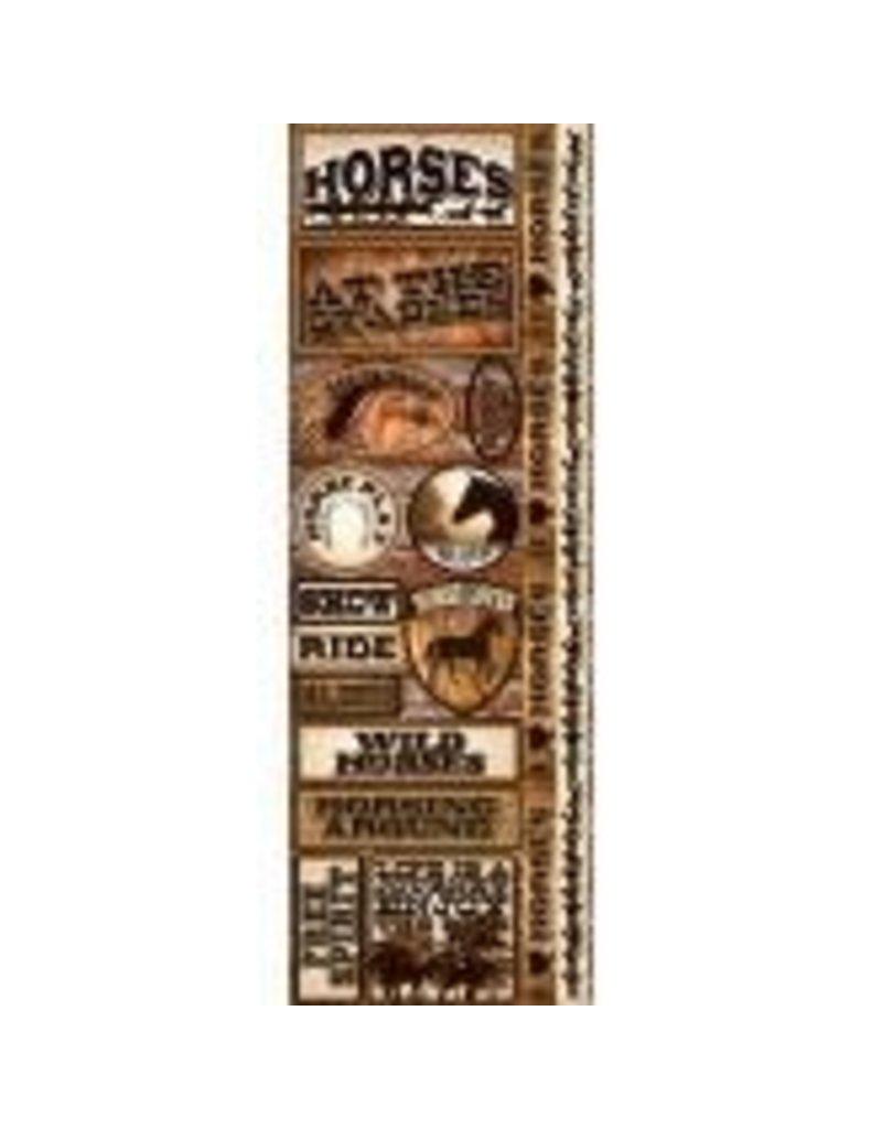 Reminisce RM sticker horses