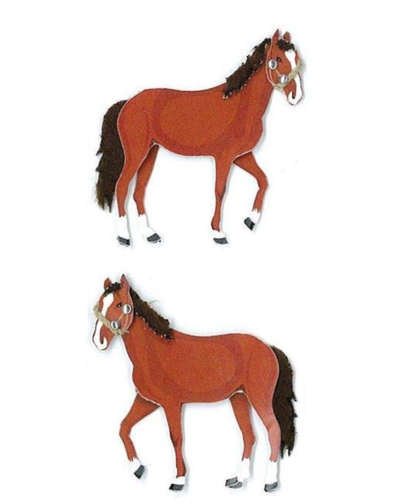EK Success EK mini horses stickers