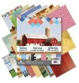 Paper House PH 12x12 farm house large pack