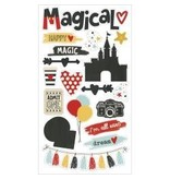 Simple Stories SSsay cheese 3  chipboard stickers
