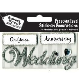 Express yourself EX sticker wedding anniversary