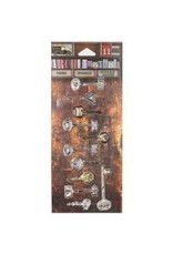 7 Gypsies 7G sticker vintage keys