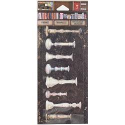 7 Gypsies 7G sticker candlesticks