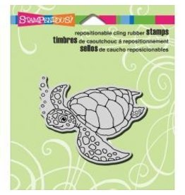 Stampendous SPD stamp sea turtle