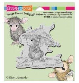 Stampendous SPD stamp confetti shower